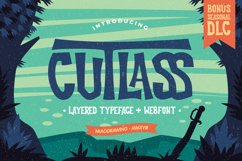 Cutlass Typeface Product Image 1