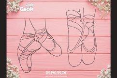 BALLERINA SVG Bundle, ballet svg, ballerina shoes svg, balle Product Image 4