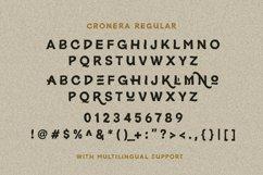 Cronera - Handcrafted Typeface Product Image 8