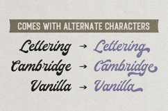 Lamberds - Display Script Font Product Image 2