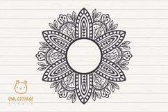 Fall Mandala Monograms svg, Fall monograms mini bundle, Autu Product Image 3