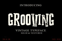 Grooving Vintage Font Product Image 1