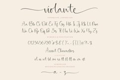 Violante Modern Handwritten Font Product Image 6