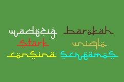 Selamet Lebaran - Arabic Fauxlang Font // Web Font Product Image 2