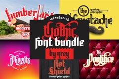 Gothic font bundle Product Image 1