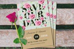 Vintage Wedding Invitation Suite Product Image 3