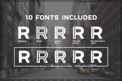 Provoke Trendy Inline Typeface Product Image 6