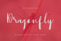 Dragonfly Font Product Image 1