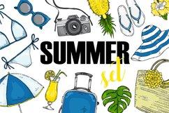 Fashion vector summer set Product Image 1