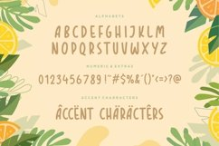 TROPICAL ORANGE Fun Modern Handdrawn Font Product Image 6