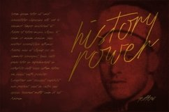 Web Font History Script Font Product Image 4