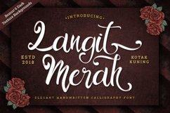 Vintage Script - Langit Merah Font Product Image 1