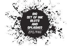 Ink blots and splachers set Product Image 1