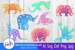 Wild Animal Mandala Bundle SVG Product Image 1