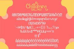 Chilldren Handwritten | Bonus Vector Product Image 6