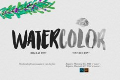 Watercolor Opentype-SVG Font Product Image 4