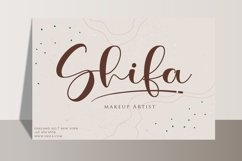 Belina - A Script Fonts with Swash Product Image 7