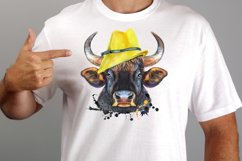 Cute watercolor bulls Product Image 2