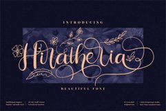 Hiratheria - Beautiful Script Font Product Image 1