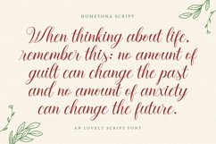 Hometona Script Product Image 6