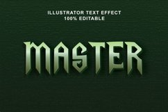 master text effect editable vector Product Image 1