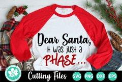 Christmas SVG   Santa SVG   Christmas Shirt SVG Product Image 1