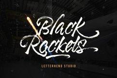 Black Rockets - Dry Brush Font Product Image 1