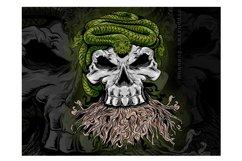 skull vector design Product Image 2