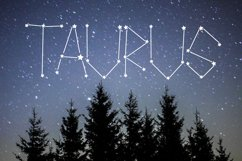Aries - A Constellation Making Font Product Image 5