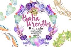 Spring Sale succulents & cactuses watercolor bundle 75% OFF! Product Image 4