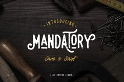 Mandatory Vintage Font Duo ! Product Image 1