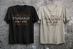 Tomahawk - american authentic font Product Image 9