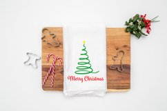 Merry Christmas Ribbon Tree Product Image 2