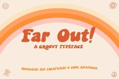 Far Out! - A Groovy Typeface Product Image 1