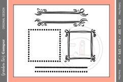 Frames SVG, Circles and Dots Craft Frames Product Image 1