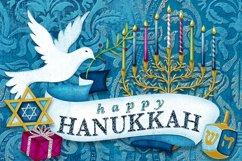 Happy Hanukkah Digital Scrapbooking Collection Product Image 5