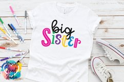 Big Sister - A family and sibling SVG Product Image 1
