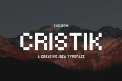 Cristik | A Creative Type Product Image 1
