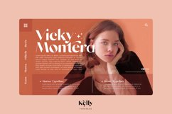 Kelly - Three Weights Classy Sans Serif Product Image 4
