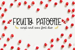 Fruity Patootie Font Duo Product Image 1