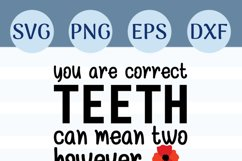 Brush Your Teeth, A Bathroom Sign, SVG or Sublimation Product Image 3