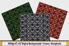 "12 Seamless Pattern - 12"" x 12"" Steampunk Revolutions Set Product Image 3"