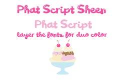 PN Phat Script Sheen Font Duo Product Image 6