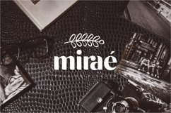michael beautiful ligature font Product Image 11