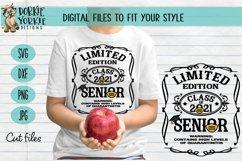 Quarantined Edition Class of 2021 - Senior - Graduation SVG Product Image 1