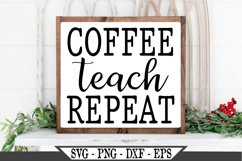 Coffee Teach Repeat SVG Product Image 2