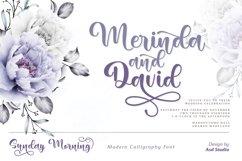 Sunday Morning- Modern Calligraphy Product Image 6