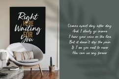 Silent Landfield is a Modern Calligraphy Font Product Image 3