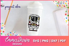 ACE THE ASTRONAUT SVG CUTE DESIGN Product Image 4