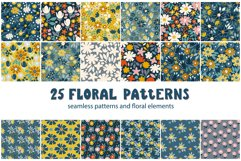 Rustic floral patterns set Product Image 1